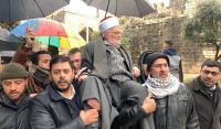 إبعاد  الشيخ صبري 4 أشهر عن الأقصى