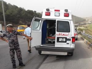 8 إصابات بحادثين في اربد والعقبة