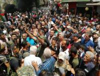 تواصل الاحتجاجات بالمخيمات الفلسطينية في لبنان