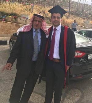 تهنئة للدكتور أسامة محمد السعايدة