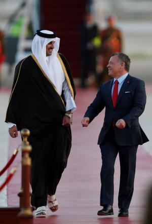 رسائل سياسية أردنية قطرية تحملها زيارة تميم للأردن