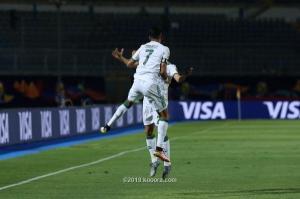 الجزائر في طريقها لربع النهائي بعد فوزها على غينيا