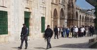 أوقاف القدس يستنكر دعم شرطة الإحتلال لممارسات المستوطنين