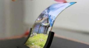 سامسونج تعرض أول شاشة قابلة للتمدد في العالم خلال أيام