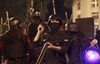 إصابة رجلي أمن خلال مداهمة أمنية بالاغوار الشمالية (فيديو)