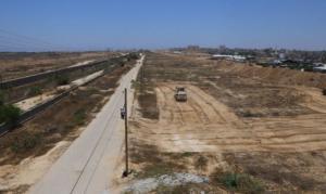 منطقة عازلة بين مصر وغزة