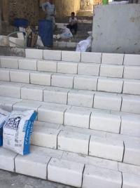 الأمانة تواصل تأهيل 100 درج في عمان (صور)
