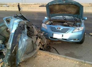 3 اصابات بحادث تدهور على طريق المدينة الطبية