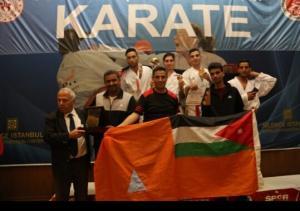 الدفاع المدني يحصد 3 ميداليات ببطولة تركيا للكراتيه