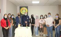 الشرق الأوسط تفتتح جناح بنك الشفاء داخل مركز إستقطاب الطلبة