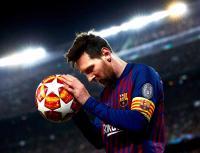 غياب ميسي عن برشلونة عدة مبارايات