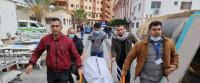 استشهاد 3 فلسطينيين في بحر خانيونس