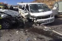وفاة سبعيني وإصابة 3 آخرين بحادث تصادم في العقبة