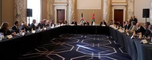 الملك يلتقي ممثلي منظمات يهودية وأمريكية بنيويورك