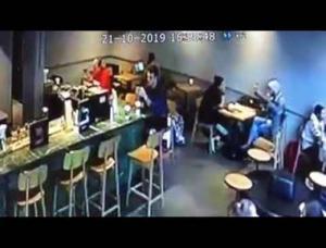 سرقة طالبة أردنية في تركيا (فيديو)