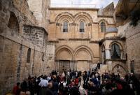كنيسة القيامة تؤجل فتح أبوابها