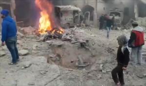 تلغراف: قصف النظام لإدلب يفوق قصفه لحلب