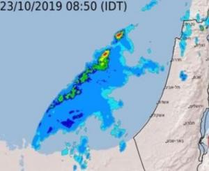 تنبؤات بعاصفة مدارية عنيفة قبالة شواطئ فلسطين