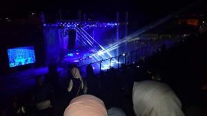 هذا ما حدث خلال حفل لفرقة أردنية شمال الضفة!