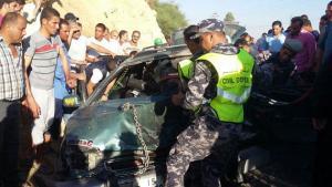 3 وفيات و 6 اصابات بحادثي سير في مادبا وعمان (فيديو)