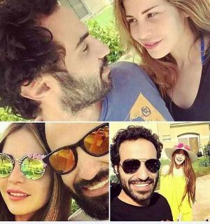 أحمد فهمي يسخر من زوجته