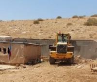 الاحتلال ينفذ عملية هدم وتهجير واسعة في الأغوار
