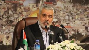 هنية : لا لدولة فلسطينية على حساب الأردن