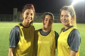 ابو صباح والعوّاد وابو كشك يلتحقن بتدريبات منتخب السيدات تحت 17 سنة