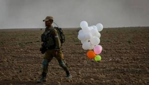 بالونات مفخخة قرب القدس