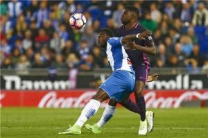 برشلونة يهزم اسبانيول بثلاثية نظيفة