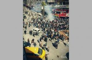 """السلطة تقمع وقفة ضد """"الإعتقال السياسي"""" في الخليل"""