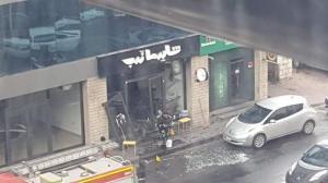 انفجار جراء تسرب غاز داخل مطعم في العبدلي (صور)