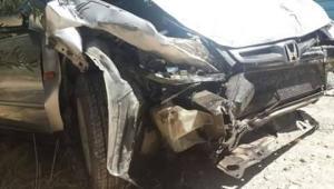 الكرك: إصابة 3 أشخاص بحادث تدهور  (صور)