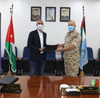 توقيع اتفاقية بين قيادة سلاح الجو الملكي وشركة زين
