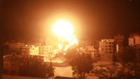 رغم التهدئة ..  الاحتلال يواصل قصف غزة ..  والمقاومة ترد