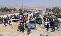اتفاق يقضي بإخلاء 7 آلاف مسلح مع عائلاتهم من الغوطة