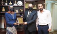 """""""عمان العربية"""" تلتقي الملحقية الثقافية العراقية (صور)"""