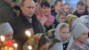 إصابة حارس كنيس في روسيا