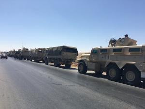 تعزيزات عسكرية على الحدود الشمالية الشرقية (صور)