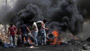 اصابات خلال مواجهات مع الاحتلال في نابلس