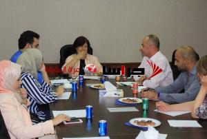 لقاء حواري مع عبلة ابو علبة حول واقع الانتخابات النيابية (صور)