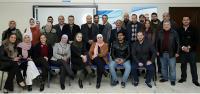 طلبة من جامعة الزرقاء ينهون دورة تدريبية في وكالة الأنباء الأردنية