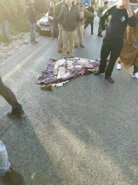 هكذا قتل مستوطن معلمة فلسطينية بدم بارد (صور)