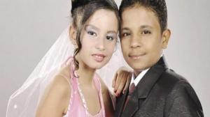 زواج أصغر عروسين في مصر (صور)