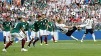 المكسيك تتغلب على المانيا بهدف دون رد