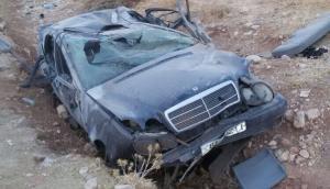 6 اصابات بتدهور مركبة في الرويشد