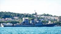 """مدمرة أمريكية بعبر """"البوسفور"""" باتجاه البحر الأسود"""