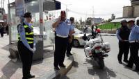 شرطيات من ادارة السير يباشرن عملهن في الزرقاء