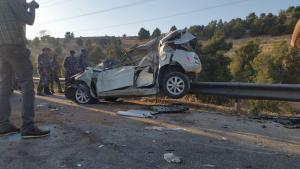 اصابة 4 أشخاص بحادث تدهور في اربد