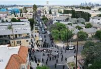 إصابة 4 من رجال الشرطة الأمريكية بإطلاق نار خلال الإحتجاجات